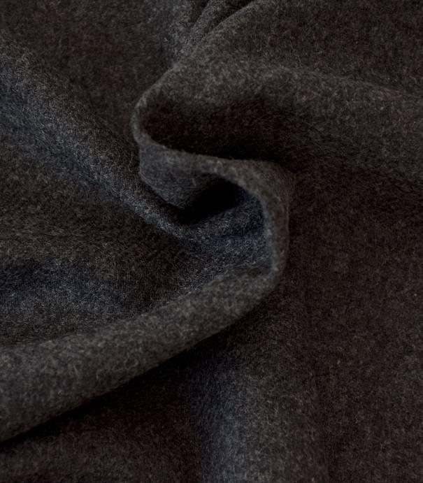 Flanelle de laine grise