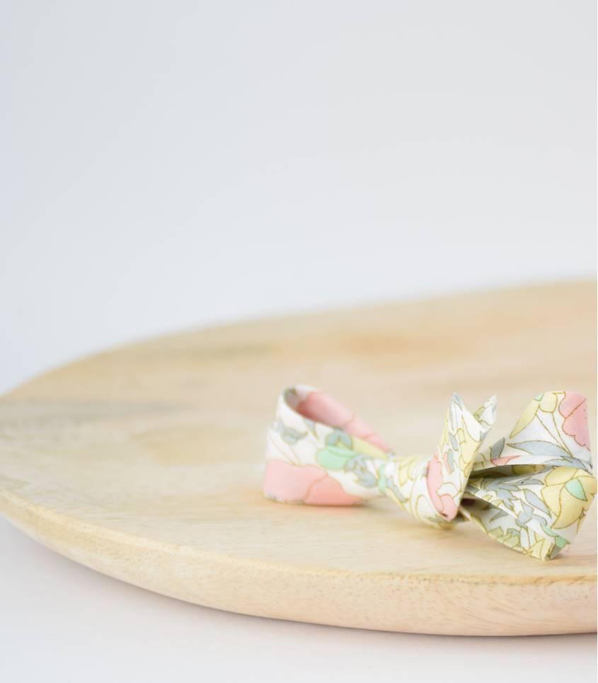 Biais Liberty Poppy & daisy pastel