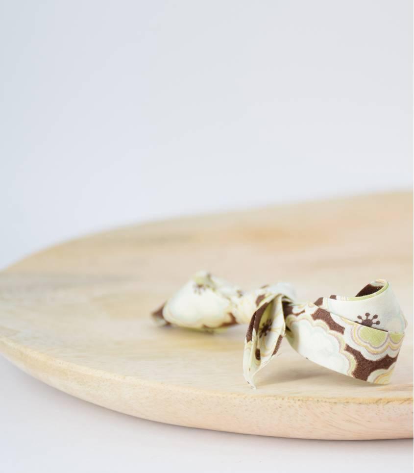 Biais Liberty Toria chocolat