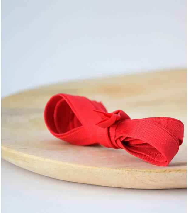 """2 mètres blanche froncée broderie anglaise rouge vif ruban bordure en dentelle 1.5/""""//4cm"""