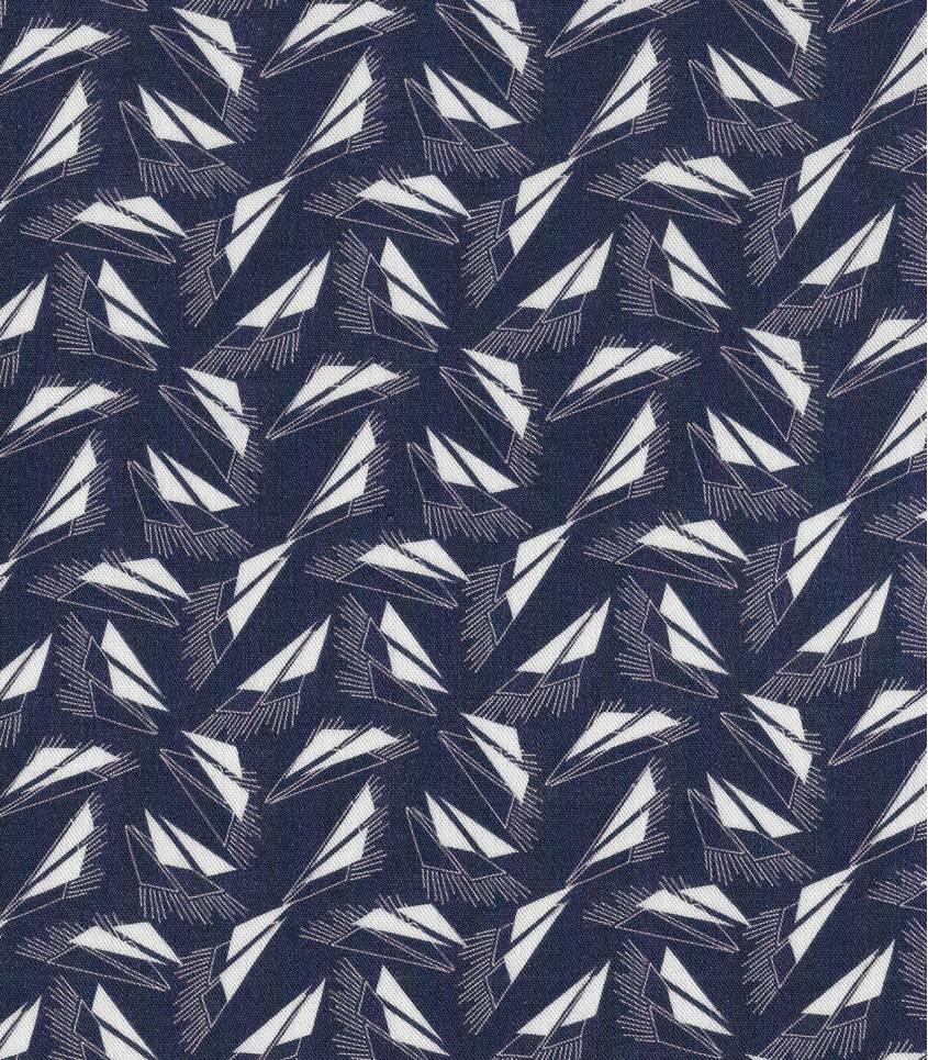 Tissu Sweet Shape / true navy