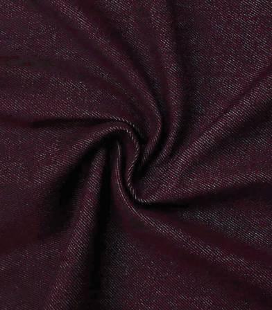 Tissu Denim épais Bordeaux
