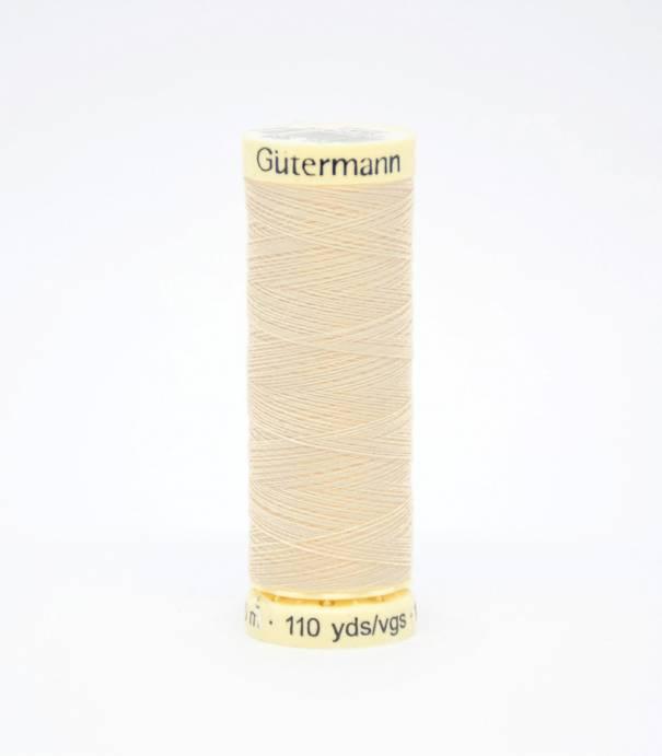 Fil à coudre Gütermann beige-169