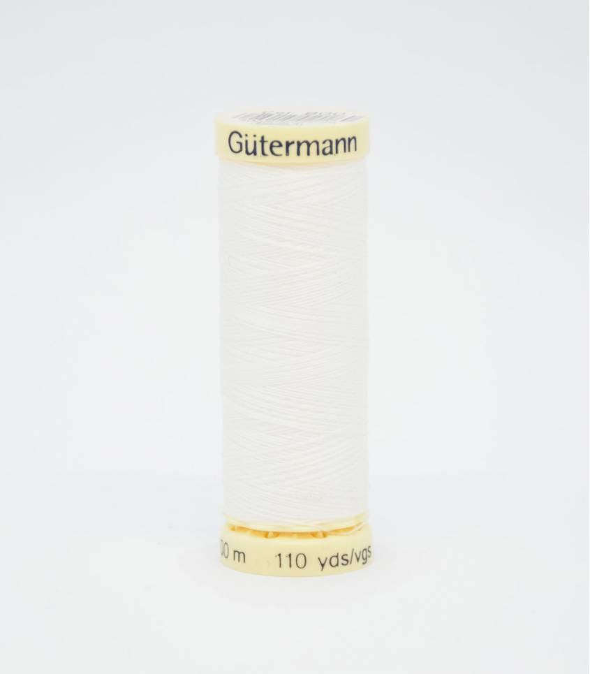 Fil à coudre Gütermann blanc-800