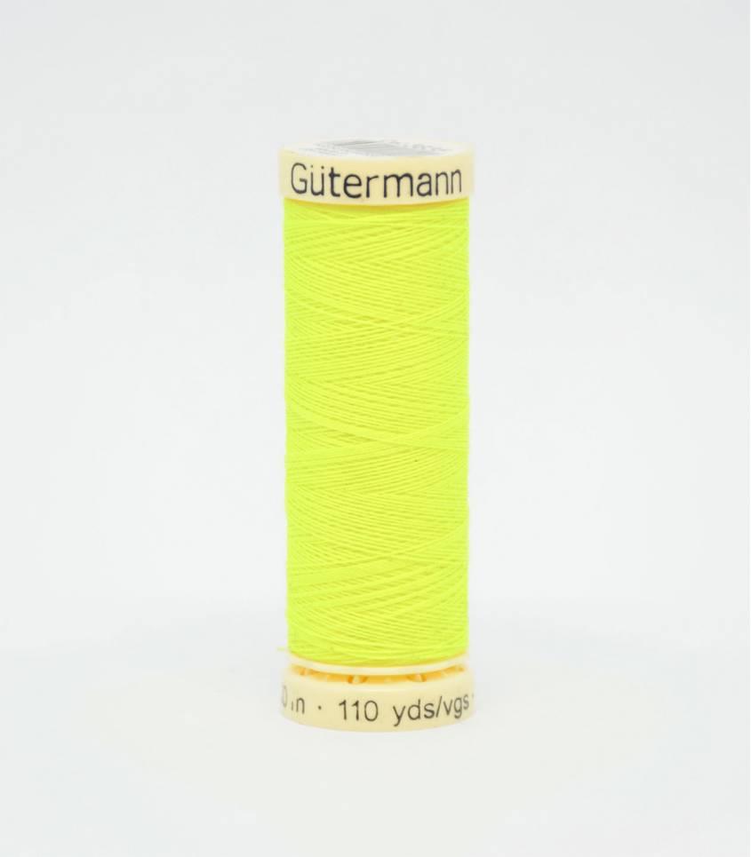Fil à coudre Gütermann jaune fluo-3835