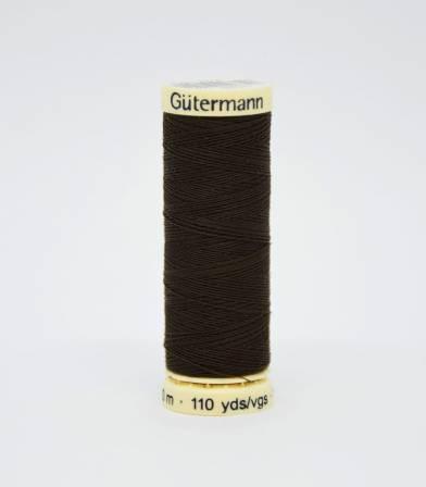 Fil à coudre Gütermann chocolat-674