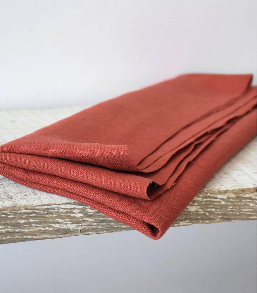 Tissu lin lavé bruschetta