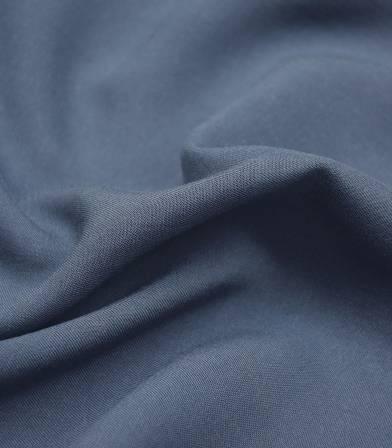 Twill viscose bleu jean