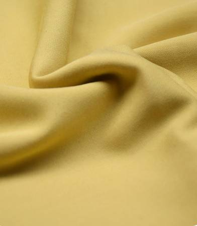 Twill viscose moutarde