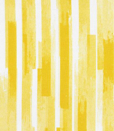 Tissu canvas yellow stripes  - Rico Design