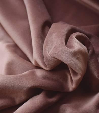 Tissu Jersey velours Châtaigne