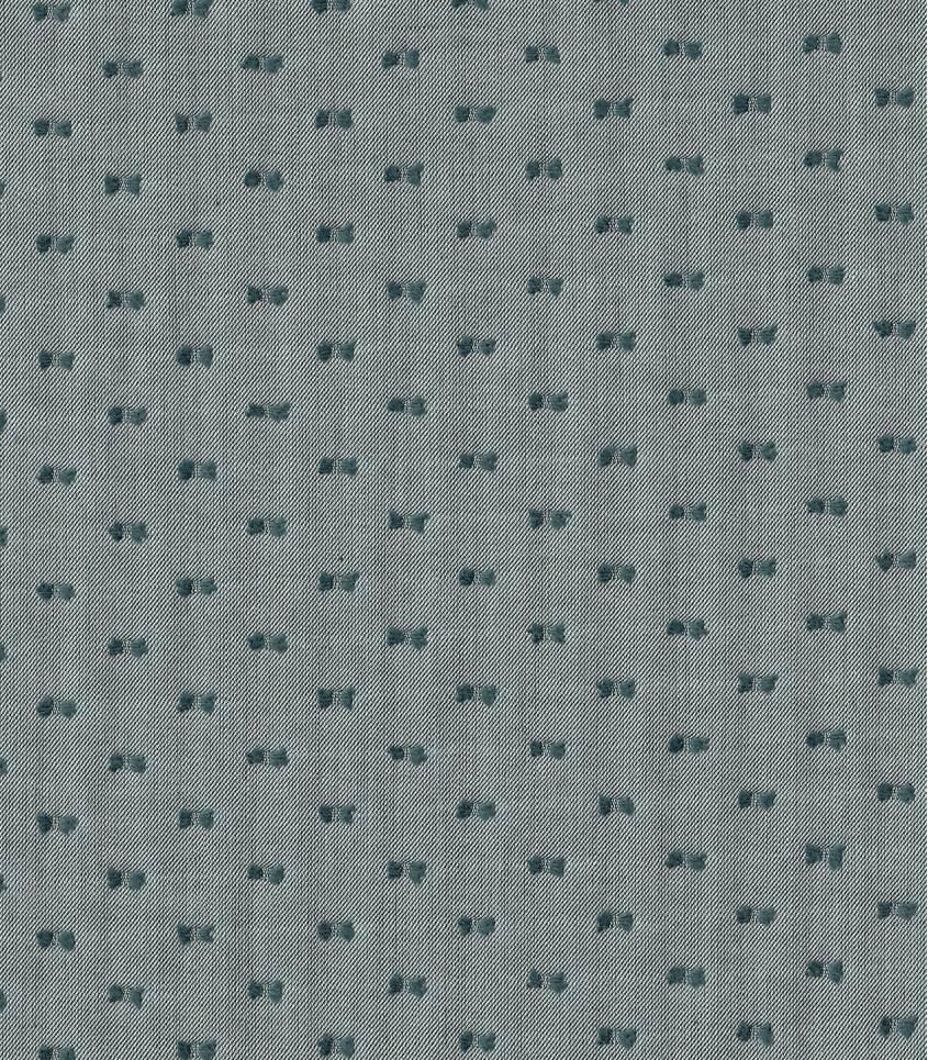 Tissu chambray plumetis bicolore - Vert