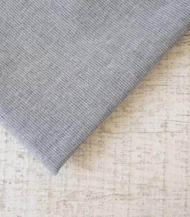 Tissu flanelle de coton Pied de puce Gris