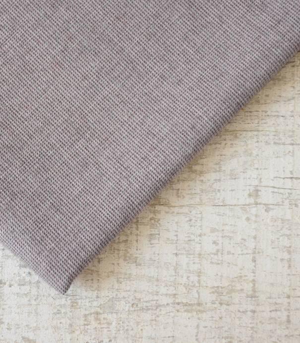 Tissu flanelle de coton Pied de puce Bordeaux
