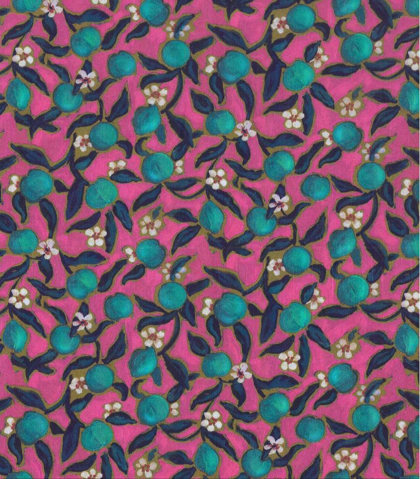 Tissu Liberty Lemon Grove- Rose