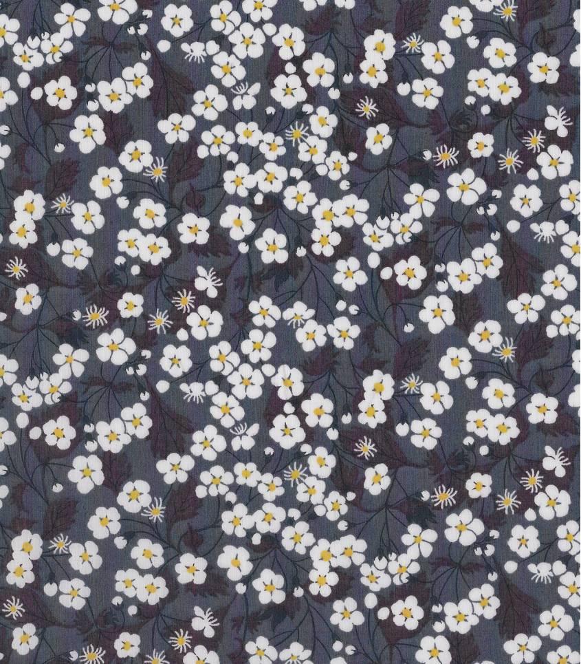 Tissu Liberty Mitsi - Poivre gris