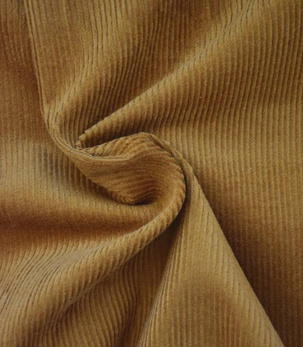 Tissu velours côtelé - Biscuit