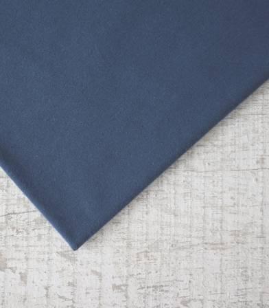 Tissu French Terry coton bio - Bleu sombre