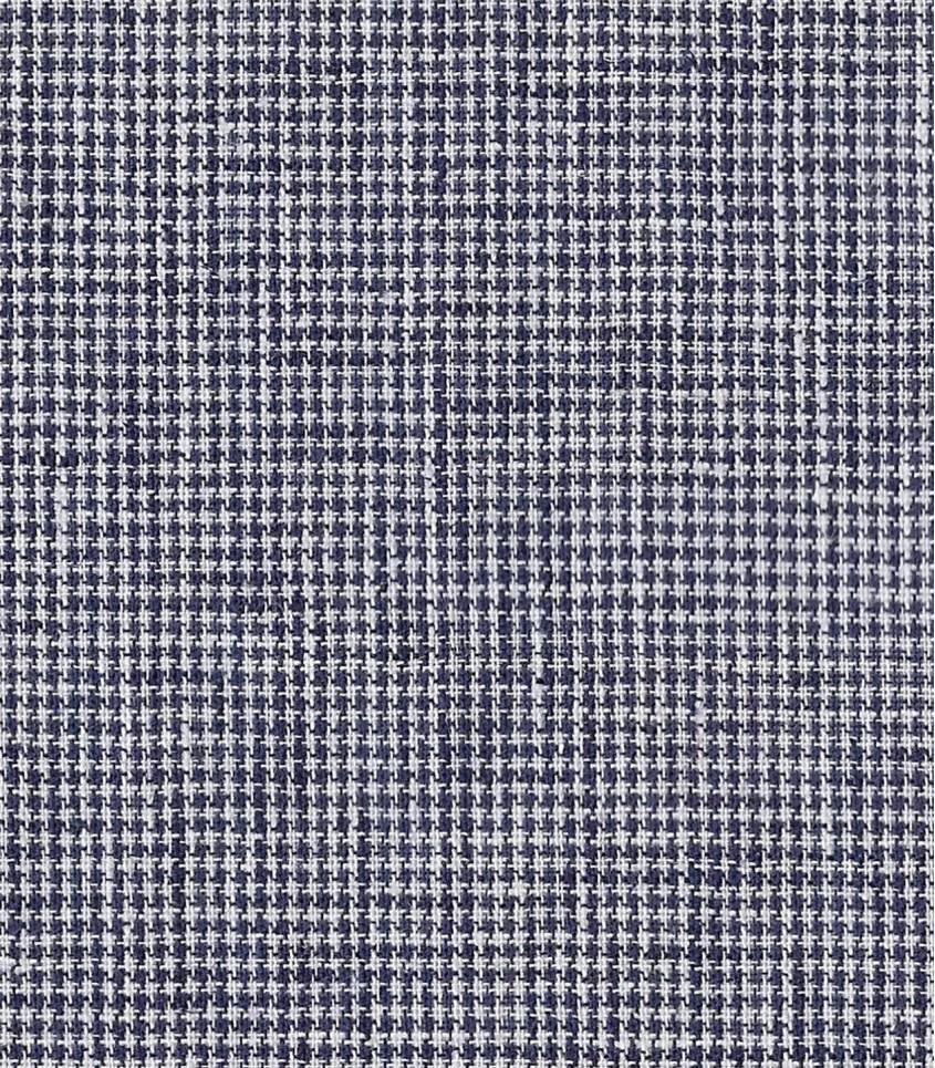 Tissu Pied de puce - marine