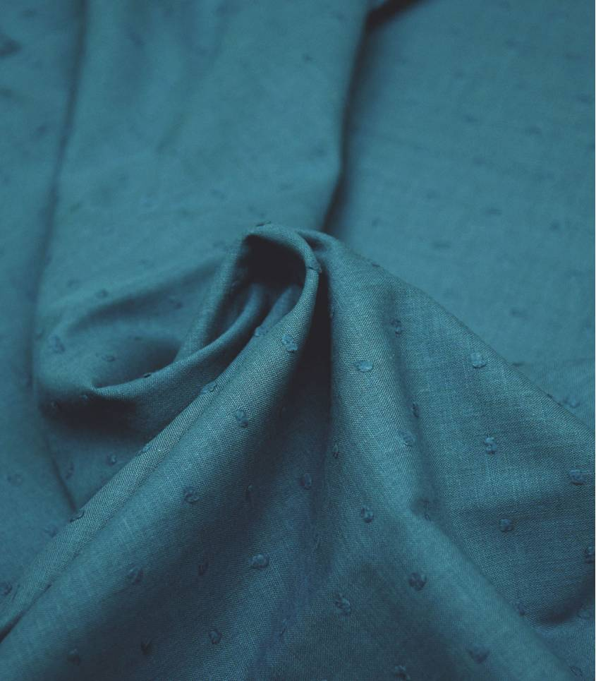 Plumetis deep blue