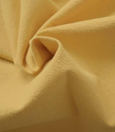 Tissu coton lavé - Moutarde