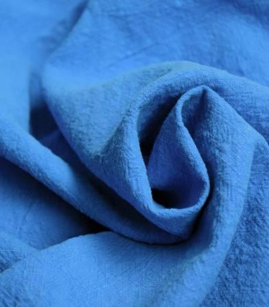 Tissu Lin lavé bleu lavande