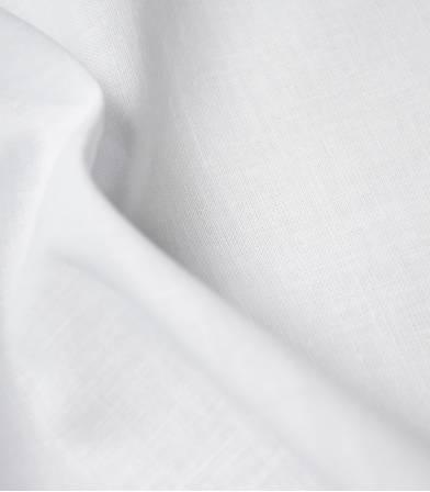 Tissu Lin coton - blanco