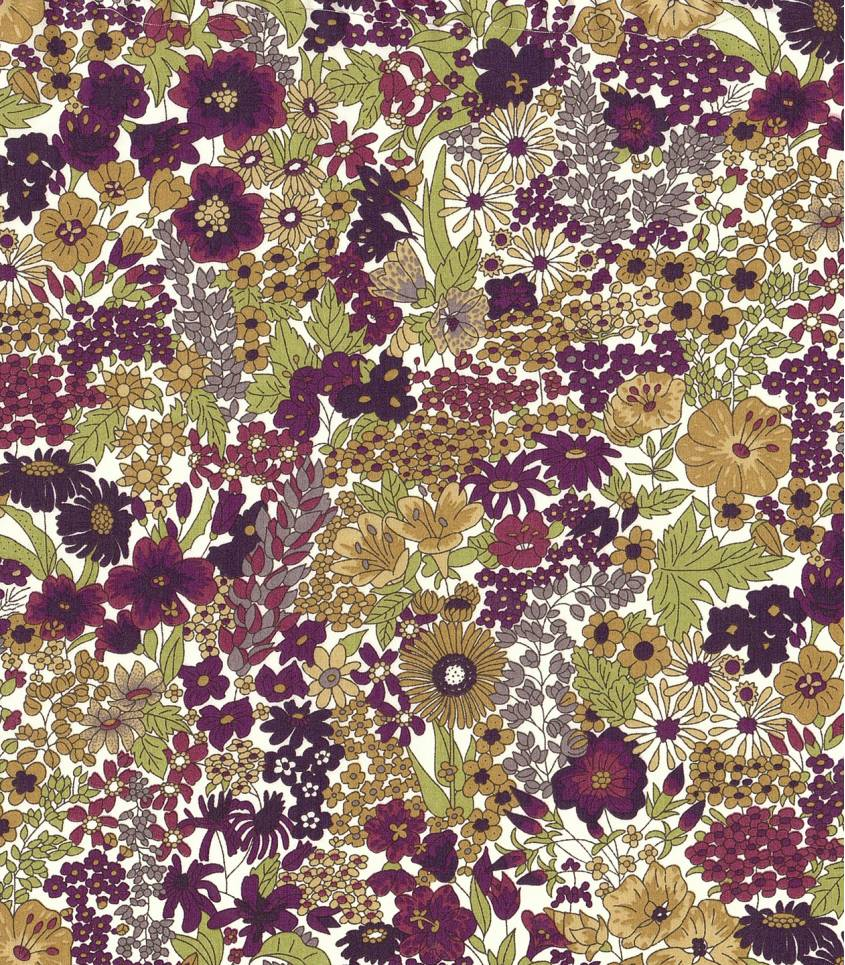 Tissu Liberty Margaret annie purple