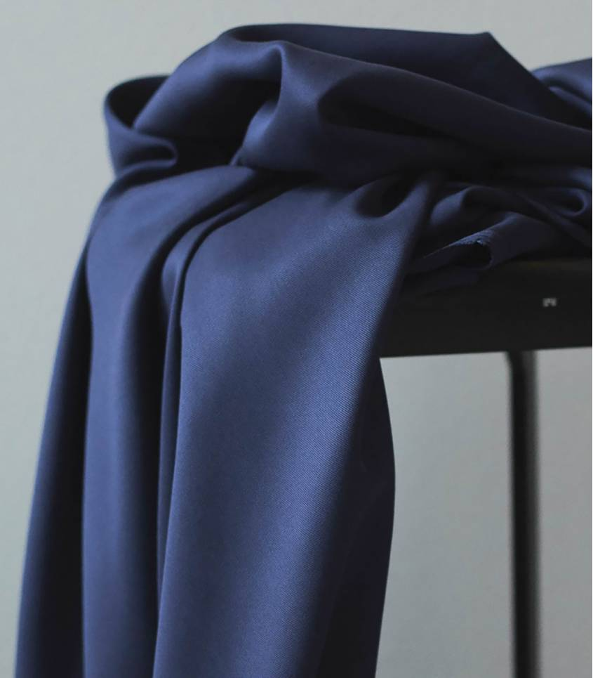 Tissu tencel sanded - Blueberry