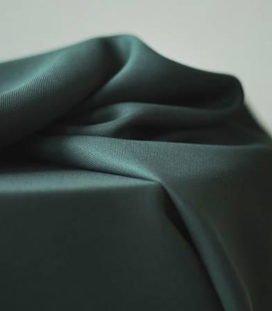 Tissu smooth dape twill  - Deep green