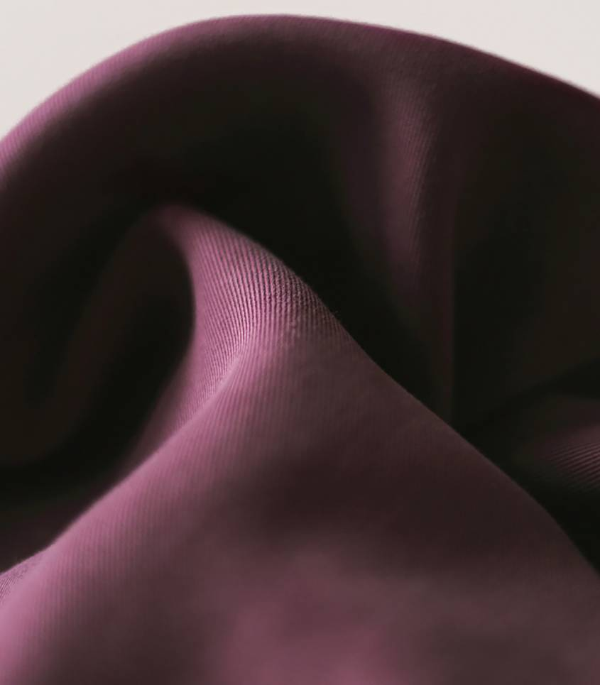 Tissu tencel sanded - Maroon