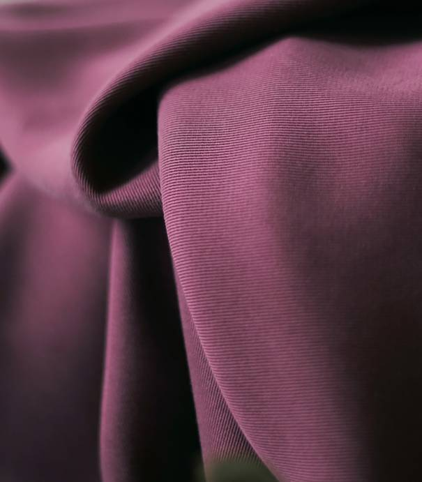 Tissu smooth drape twill - Maroon