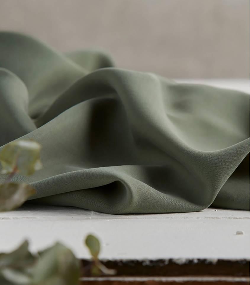 Tissu tencel twill - Moss