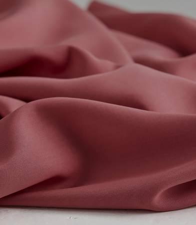 Tissu tencel twill - Rouge