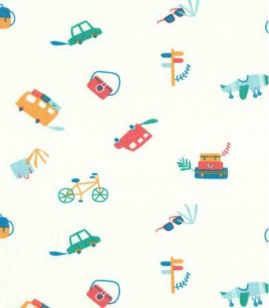 Tissu Jersey - Travel kit