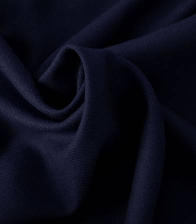 Flanelle de laine marine