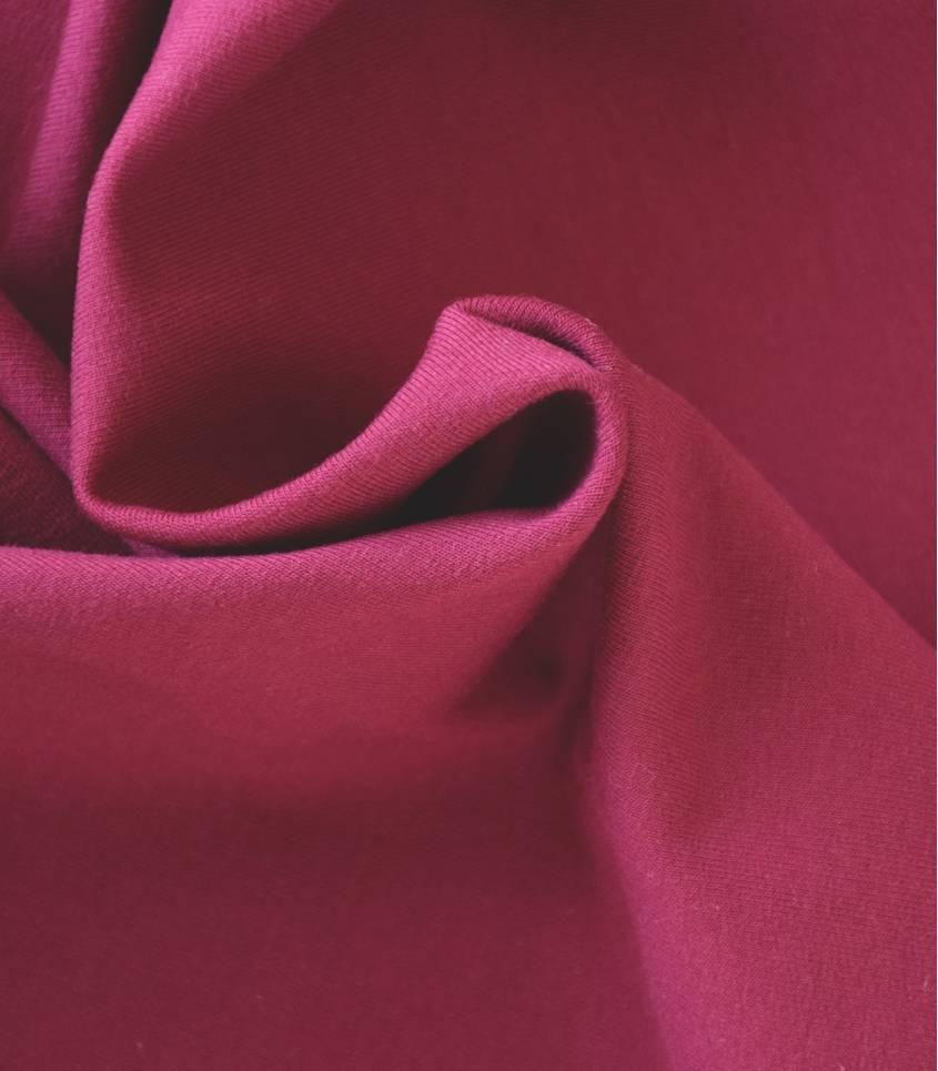 Tissu Sweat de coton bio- Lupin