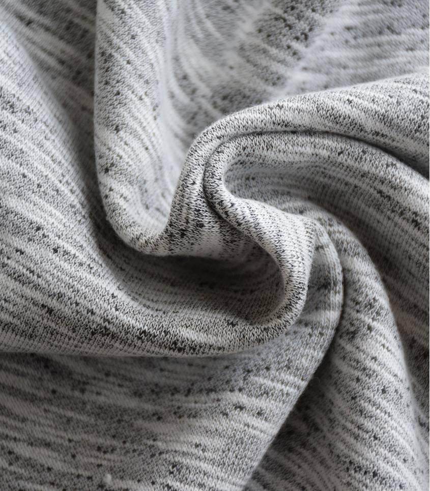 Tissu sweat grey - Berlin