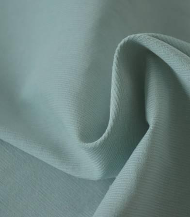 Tissu velours milleraies fin vert céladon