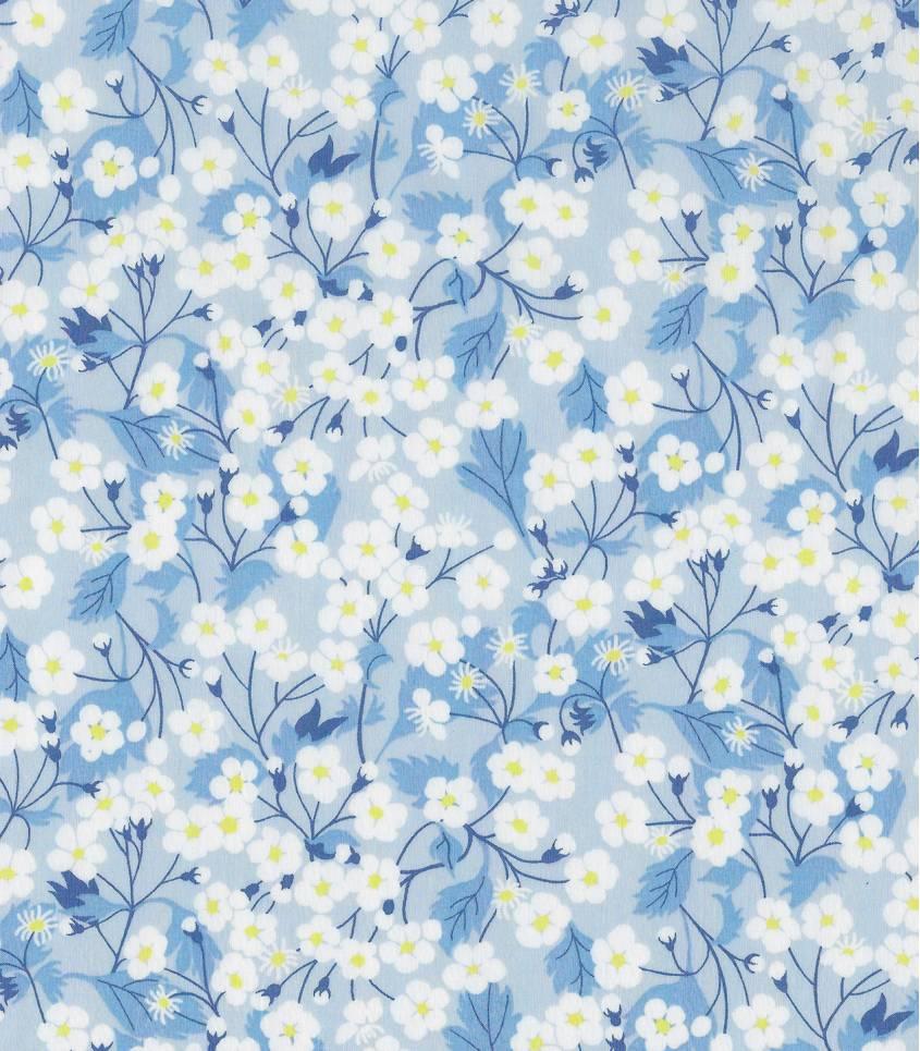 Tissu Liberty Mitsi  Sweet blue