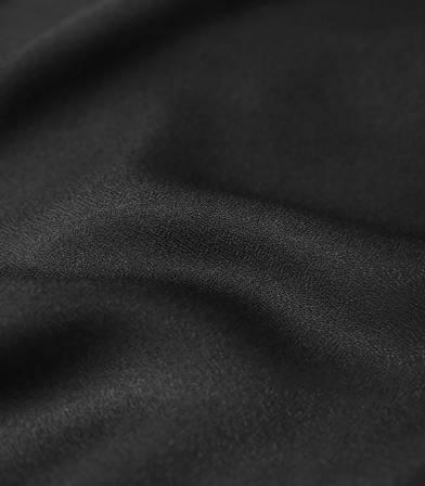 Tissu Crêpe AB Black