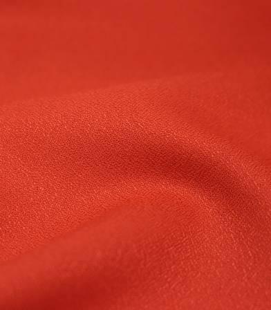 Tissu Crêpe AB Tangerine