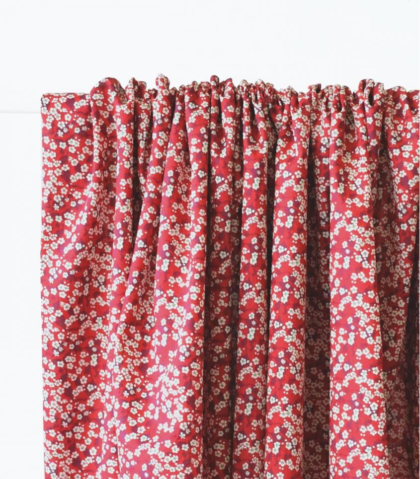 Liberty Mitsi Valéria fraise des bois