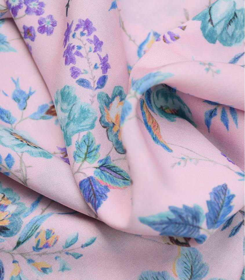Viscose Liberty - Yorkshire Rose /pink