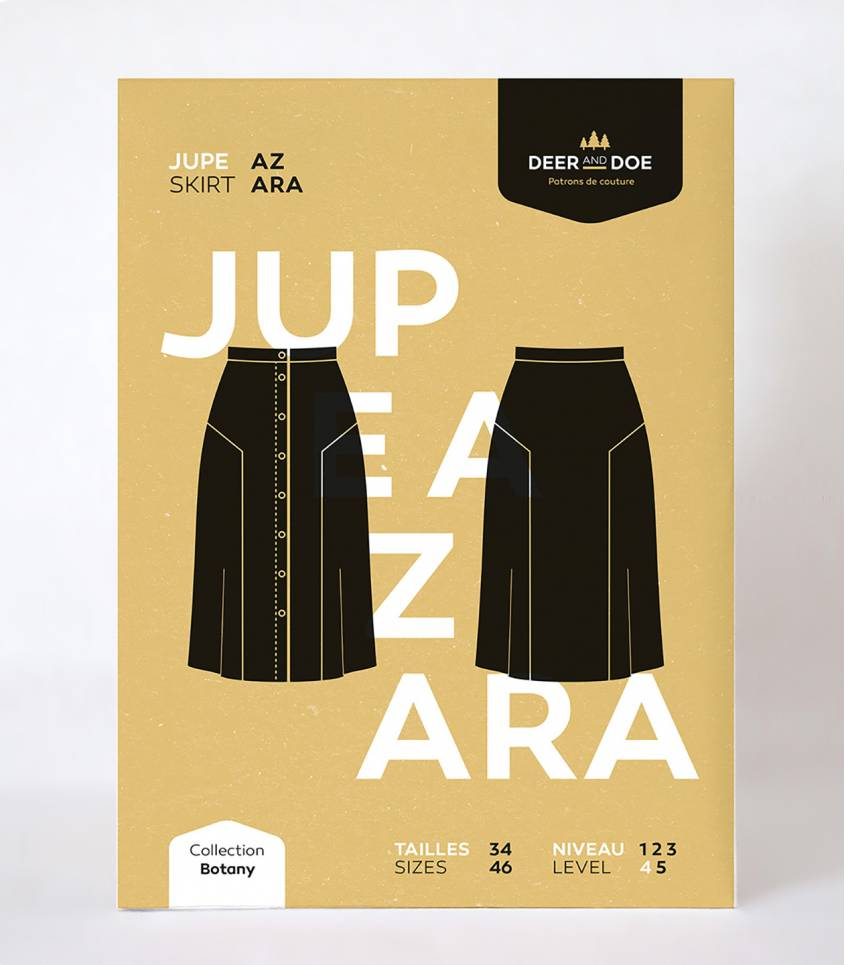 Patron Jupe Azara