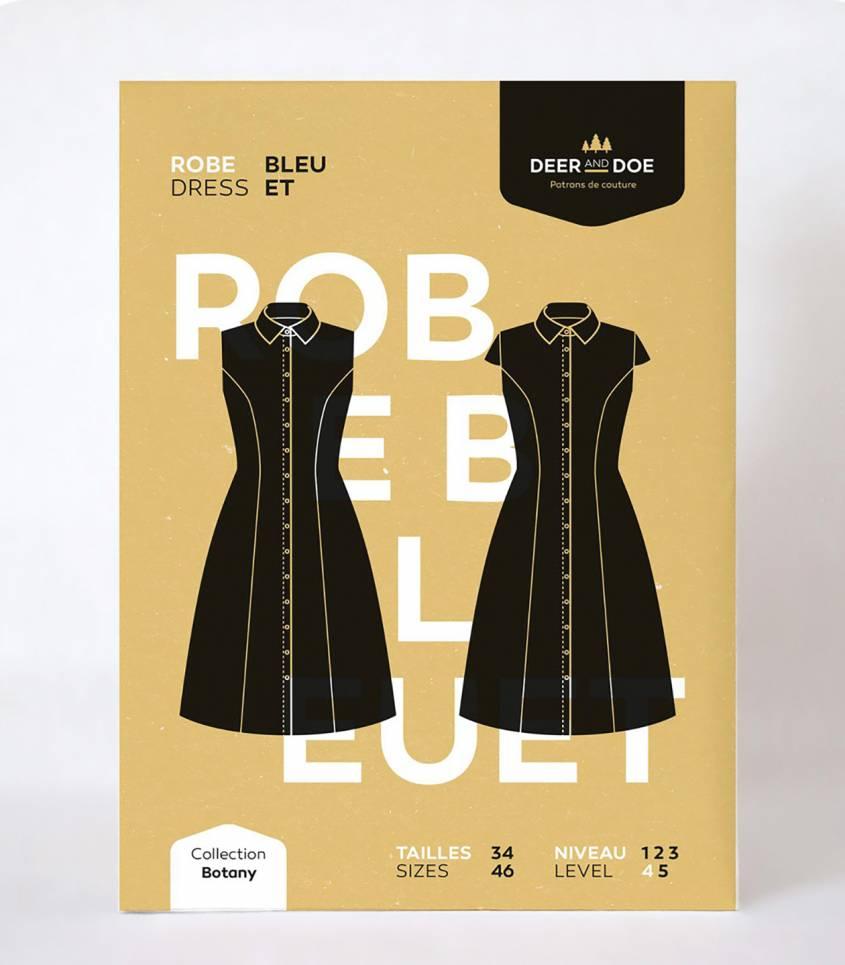Patron Robe Bleuet