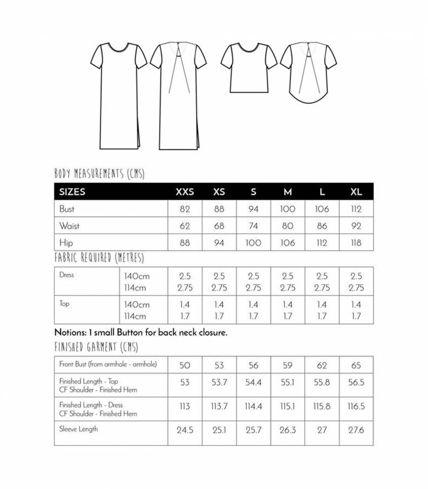 Kobe dress / top