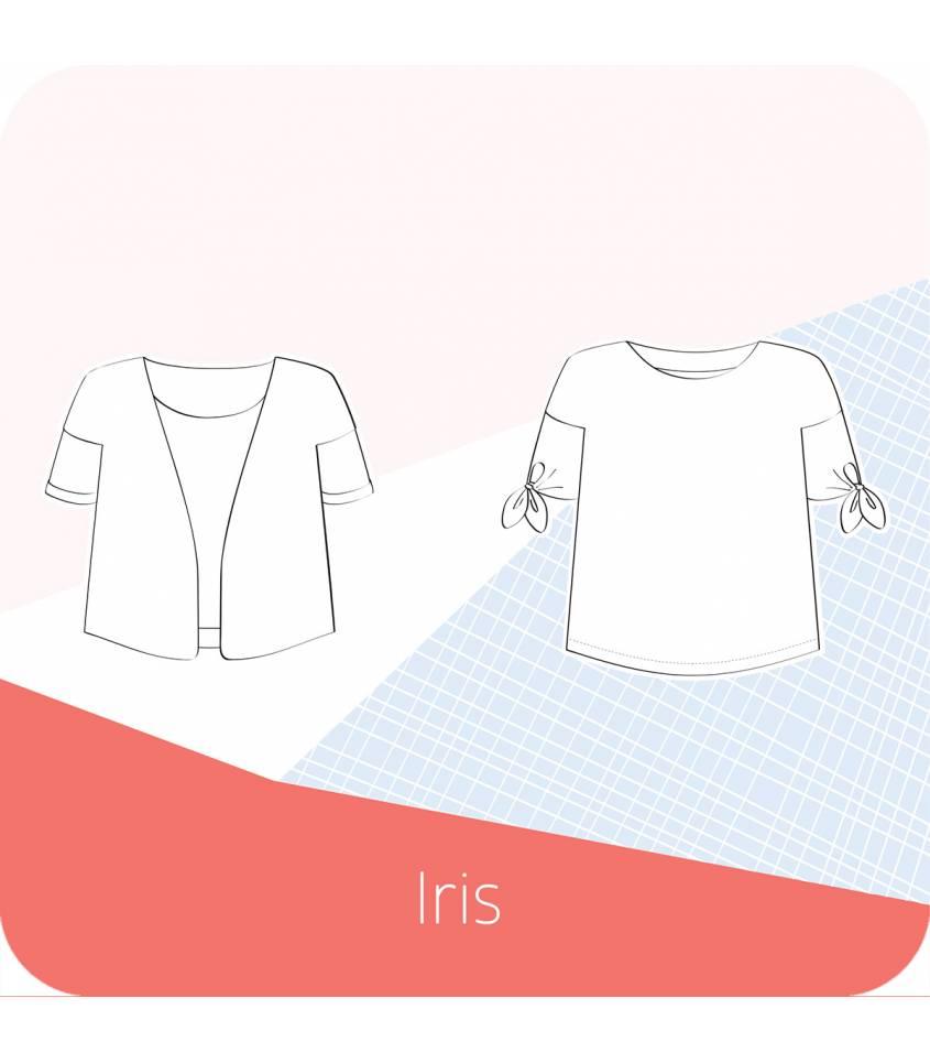 Patron Top /veste Iris