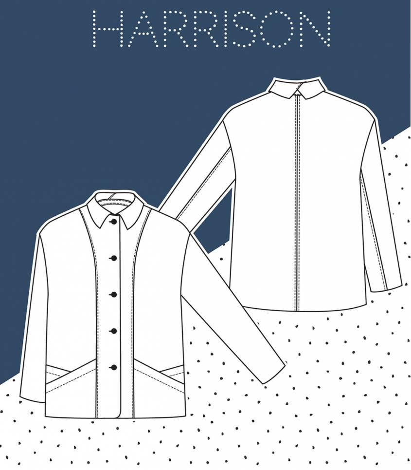 Patron Veste Harrison