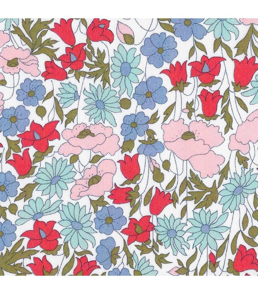 Poppy & Daisy blue/rose poudré